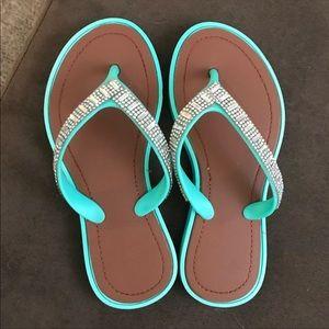 Other - Size 12/13 girls Jewel Flip flop sandals
